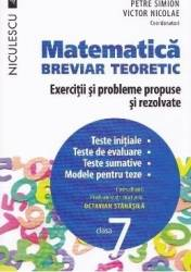 Matematica cls 7 Breviar teoretic ed.2016 - Petre Simion Victor Nicolae