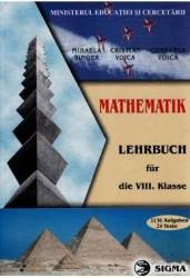 Matematica Cls 8 - Lb. Germana - Mihaela Singer Cristian Voica Consuela Voica Carti