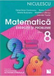 Matematica cls 8 Exercitii si probleme ed.2016 - Oana-Dana Cioraneanu Rozica Stefan