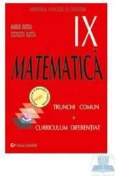 Matematica Cls 9 Tc+Cd - Marius Burtea Georgeta Burtea