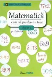 Matematica cls a 2-a Exercitii probleme si teste