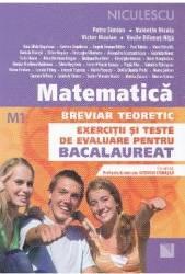 Matematica M1 Breviar teoretic Exercitii si teste de evaluare pentru Bacalaureat ed.2016 - Petre Simion