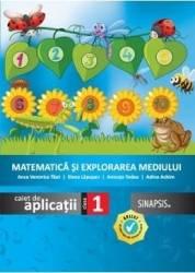 Matematica si explorarea mediului - Clasa 1 - Caiet de aplicatii - Anca Veronica Taut Elena Lapusan