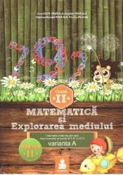 Matematica si explorarea mediului - Clasa 2 - Partea A II-A - Varianta A - Ed.2015 - Dumitru D. Paraiala