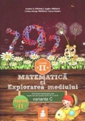 Matematica si explorarea mediului - Clasa 2 - Partea A II-A - Varianta C - Ed.2015 - Dumitru D. Paraiala title=Matematica si explorarea mediului - Clasa 2 - Partea A II-A - Varianta C - Ed.2015 - Dumitru D. Paraiala