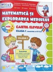 Matematica si explorarea mediului - Clasa a 1-a. Sem. 2 - Caiet - Vasile Molan title=Matematica si explorarea mediului - Clasa a 1-a. Sem. 2 - Caiet - Vasile Molan