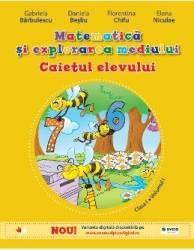 Matematica si explorarea mediului clasa 1 Caiet vol.1 - Gabriela Barbulescu Daniela Besliu