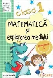Matematica si explorarea mediului Clasa 1 Sem.1 Varianta AM - Arina Damian