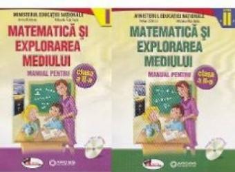 Matematica si explorarea mediului clasa 2 partea I+ partea II - Anina Badescu Mihaela-Ana Radu