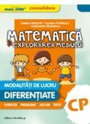 Matematica si explorarea mediului Clasa pregatitoare ed.2016 - Daniela Berechet Florian Berechet