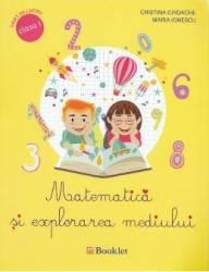 Matematica si explorarea mediului cls 1 caiet - Cristina Iordache Maria Ionescu