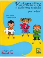 Matematica si explorarea mediului Cls 1 Caiet - Maria Ionescu Cristina Iordache