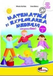 Matematica Si Explorarea Mediului Cls 1 Caiet Sem 2 - MihaelA-Ada Radu Anina Badescu