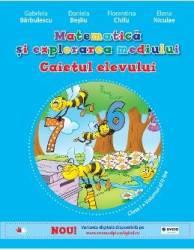 Matematica si explorarea mediului cls 1 Caiet vol.2 - Gabriela Barbulescu Daniela Besliu