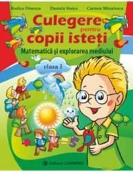 Matematica si explorarea mediului cls 1 culegere pentru copii isteti - Rodica Dinescu Daniela Stoica Carmen Minulescu