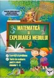 Matematica Si Explorarea Mediului Cls 1 Si 2 - Madalina-Georgia Nicolescu
