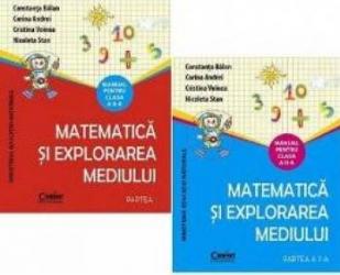 Matematica Si Explorarea Mediului Cls 2 Partea I+partea Ii +cd - Constanta Balan Corina Andre