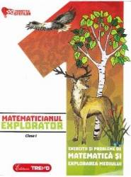 Matematicianul explorator cls 1 - Aurelia Barbulescu Carti