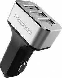 Incarcator Auto Mcdodo 5.2A Triplu USB Grey 5.2A max total 2.4 max per port Incarcatoare Auto