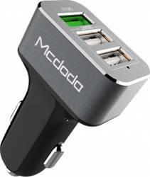 Incarcator Auto Mcdodo Qualcomm 3.0 3.4A Triplu USB Grey 1xUSB QC3.0 si 2xUSB 2.0 Incarcatoare Auto