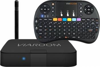 Media Center Viaroom Fusion TV Connect+Keypad EASY TV Box