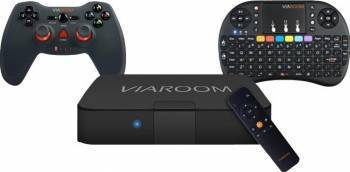 Media Center Viaroom Fusion TV Family + Keypad Easy + Gamepad Fast Resigilat