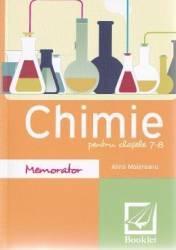 Memorator de chimie pentru clasele 7-8 ed.2016 - Alina Maiereanu