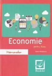 Memorator de economie pentru liceu. Ed.2016 - Savel Mihailescu
