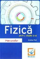 Memorator de fizica - Clasele 6-8 - Emilia Poll