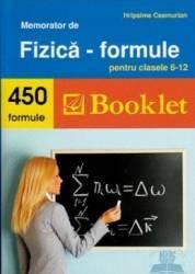 Memorator de fizica - Formule cls 6-12