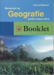 Memorator de geografie a 12-a Romania+Europa - Cristina Moldovan