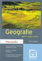 Memorator de geografie cls. 12 - Cristina Moldovan