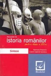 Memorator de istoria romanilor. Clasa a XII-a - Ramona Popovici title=Memorator de istoria romanilor. Clasa a XII-a - Ramona Popovici