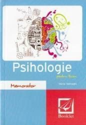 Memorator de psihologie pentru liceu Ed.2016 - Maria Halmaghi Carti