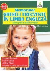 Memorator Greseli Frecvente In Limba Engleza Cls 5-8