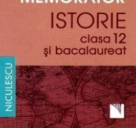 Memorator Istorie Cls 12 Si Bac - Magda Stan Crsitian Vornicu