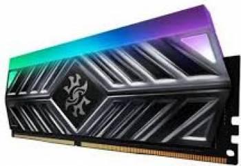 Memorie ADATA XPG Spectrix D41 Titanium Gray RGB 8GB DDR4 3200MHz CL16 Memorii