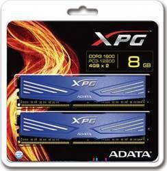 Memorie ADATA XPG V1 8GB 2x 4GB DDR3 1600MHz CL11 albastra Memorii