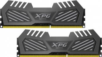Memorie AData XPG V2 Grey 16GB Kit2x8GB DDR3 2400MHz CL11 Resigilat Memorii
