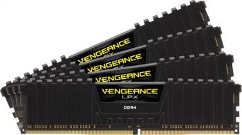 pret preturi Memorie Corsair Vengeance LPX 32GB Kit 4x8GB DDR4 2400MHz CL14 Black