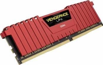 Memorie Corsair Vengeance LPX 8GB DDR4 2400MHz CL16 Red Memorii