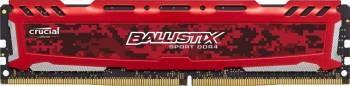 Memorie Crucial Ballistix Sport LT Red 8GB DDR4 2400MHz CL16 Memorii