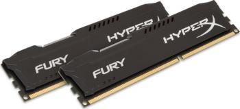 Memorie HyperX Fury Black 16GB Kit 2x8GB DDR3 1600 MHz Memorii