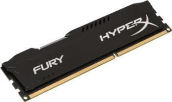 Memorie HyperX Fury Black 8GB DDR3 1600 MHz CL10 Memorii