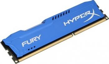 Memorie HyperX Fury Blue 8GB DDR3 1600 MHz CL10
