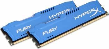 Memorie HyperX Fury Blue 8GB Kit 2x4GB DDR3 1600 MHz CL10