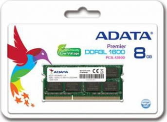 Memorie Laptop ADATA 8GB DDR3L 1600MHz CL11 Memorii Laptop
