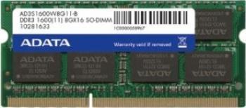 Memorie Laptop ADATA Premier 2GB DDR3 1600MHz CL11 Bulk Memorii Laptop