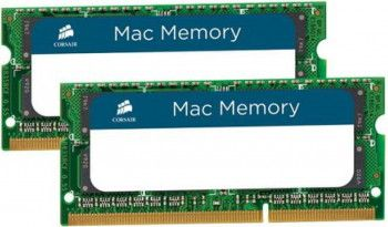 Memorie Laptop Corsair 16GB Kit 2x8GB DDR3 1333MHz CL9 MAC