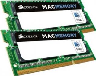 Memorie Laptop Corsair 16GB Kit 2x8GB DDR3L 1600MHz CL11 Mac Memorii Laptop